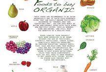 Organic Foods / by Kayla Wilson
