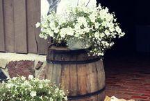 inspirasjon rustikk bryllup