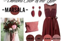 Marsala Wedding Inspiration / Pantone's Color of the Year 2015 is Marsala! / by Southern Bride & Groom