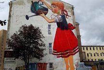 Street art / architecture