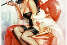 The pin - up girl