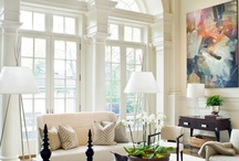 Stunning Windows / Windows are anything but ordinary in these stunning homes. Take a look at these fabulous windows and pin your favorite for later!