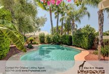 HOME FOR SALE! Well Maintained ''Topaz Model'' Home / 3090 N 148th Ave., Goodyear, AZ 85395 | This well maintained ''Topaz Model'' home offers a tropical getaway. The unique feature for this home is the whole house water conditioning system. | CALL 623-748-3818 or visit us at www.FryTeamAZ.com | #HomeForSale #JustListed #NewListing #RealEstate