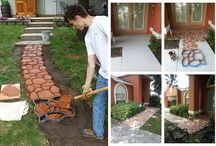 DIY practical ideas for landscaping