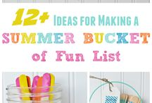 Summer Ideas for the family