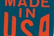 Made In The USA / by Jean Vorell Plazek