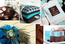 Chocolate & Aqua Wedding Inspiration