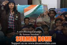 SURMAN HOME - AN INITIATIVE TOWARDS HUMANITY! / Surman Home‬, a crowdfunding‬ campaign by Manan chaturvedi, is an initiative towards humanity. Surman Sansthan, Vaishali, is giving a new life to the infants‬ whom their own parents abandoned due to various reasons. Manan takes care of their education‬, health‬ and all other needs.