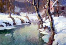 2) Landscape - George Ames Aldrich