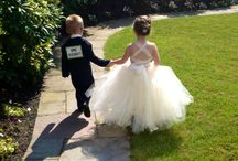 Flower Girls & Ring Bearer ideas / clothing, accessories and fun ideas for the little ones in your wedding.