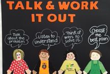Talk and Work it out - Kinder Project Cornerstone
