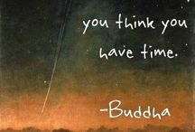 Tattoo about time / The trouble is you think you have time- Buddha