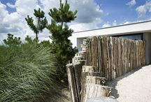 Strand huis/tuin