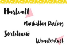 Fonts / what's your type?