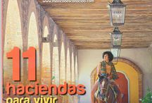 """PRESS CLIPPING México Desconocido / """"La Quinta Avenida de Playa: la buena vida"""" (""""Playa 5th. Avenue: the good life"""") is the title of this article on Mexico Desconocido magazine. Mahékal is in those lines. Take a look at their wonderful descriptions and suggestions."""