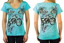 Ladies Motorcycle Tops