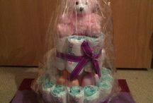 Delicate baby creations / gifts / Nappy cakes / Hampers