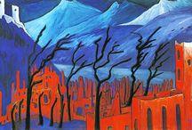 """MARIANNE VON WEREFKIN / MARIANNE VON WEREFKIN - PINTORA EXPRESIONISTA QUE LUCHÓ POR SU LIBERTAD ARTÍSTICA (1860-1938), rusa. Es una pintora expresionista que tiene inicios bajo la influencia de Munch. Ha estado asociada al grupo """"El jinete azul""""."""