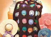 Crochet Afghans and pillows / all my dreams come true in crochet  / by Sherri McLaughlin