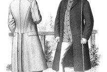 1860-1880 fashion catalog illustration
