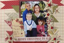 .Scrapbooking Christmas / by Tina Goodenberger