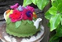 Frivolous tea cosies to knit