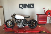 Cafe Racer / My personal cafe racer project. A Yamaha XV750 '82