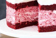 Cake / Red Velvet Ice Cream Cake from @Lindsay Dillon | Life, Love and Sugar
