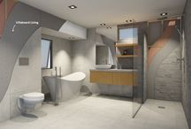 Bathroom Inspiration / Bathrooms that feature James Hardie products to inspire your own bathroom project