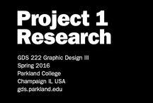2016 SPRING GDS222 P1 / by Parkland GDS