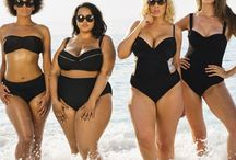 Black Plus Size Swimsuits / I am done putting years on my swimwear boards here. This is the 1st one without years I found these swimwear styles.