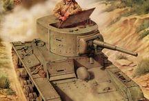 Battle WWII Ilustration