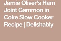 slow cooker  gammon joint