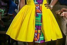 vestidos afro