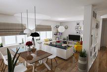 Living casa AA, Iasi, Romania