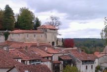 Aubeterre-sur-Dronne / Writer's getaway.  Lovely French village, planning to go someday!