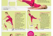 Wellness / Study-break workouts; attitude boosters  / by Melinda Dang