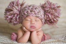 Baby knits / Flower hat