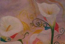 Cuadros flores / Lirios