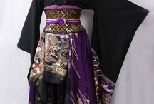 Asia clothing (traditional)