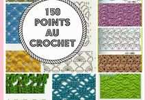 POINTS AU CROCHET