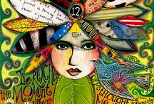Art journal dreaming