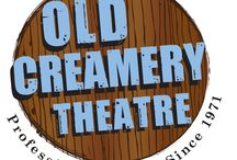 Old Creamery Theatre / The Old Creamery Theatre is a not-for-profit professional theatre founded in 1971 in Garrison, Iowa. In 2014, the company will be celebrating 43 years of bringing live, professional theatre to the people of Iowa and the Midwest.