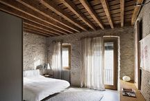The bedroom modern luxury and rustic charm