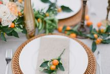 Citrus wedding