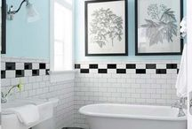 Interiors- B&W Bathroom