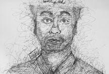 #sukasemrawut / my scribble art #sukasemrawut ✒