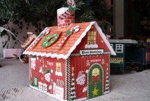 Create a Christmas Village / Santa's Village is a magical Christmas place your entire family will enjoy building.