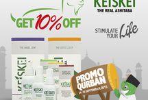 Promo Qurban s/d 30sept'15 / Promo Qurban Keiskei Disc 10% untuk semua Produk Keiskei. Order / Konsultasi: 08113309979 / Pin BB: Keiskei2
