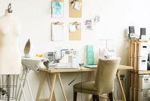 Sewing Studio / by Zsuzsi Vig